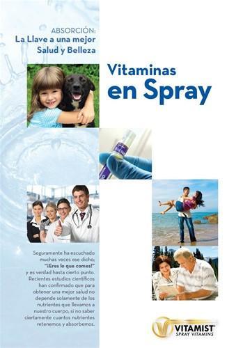 Spray Vitamins Are Here Spanish Brochure 25 Pack