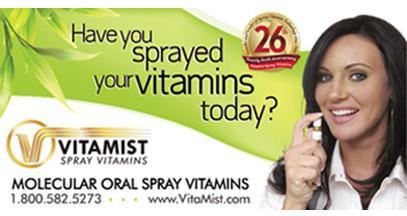 Banner Vitamist  3ft x 6ft